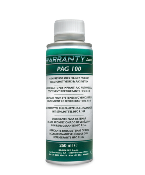 250ml of Pag Oil for traditional A/C Systems Automotive Garage Equipment Ireland