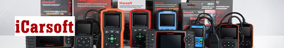 iCarsoft products from Automotive Garage Equipment Ireland