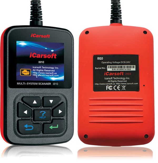iCarsoft i910 for BMW and MINI from Automotive Garage Equipment Ireland