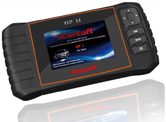 iCarsoft OP V2.0 for Opel/Vauxhall Diagnostic Tool from Automotive Garage Equipment Ireland
