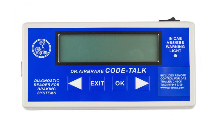Dr. Airbrake Code Talk Trailer Check II from Automotive Garage Equipment Ireland