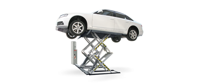 SFL 5518 – 3000kg Low Profile Scissors Lift from Automotive Garage Equipment Ireland