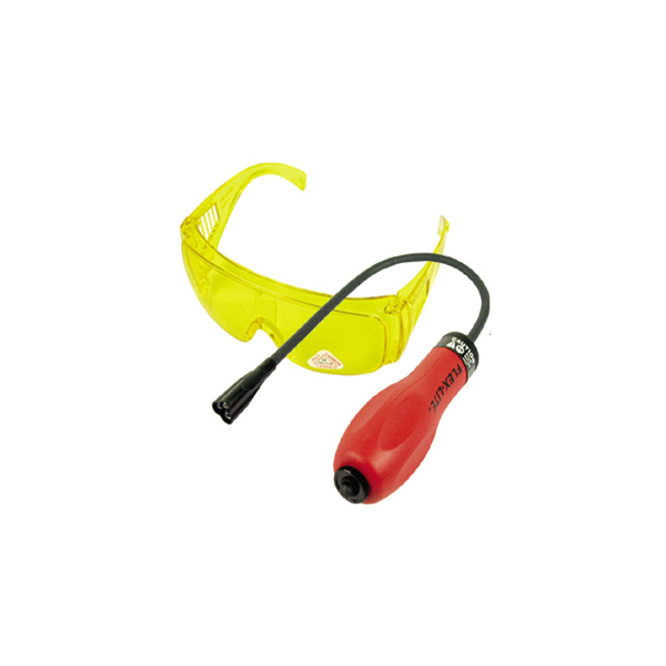 UV detection lamp and glasses from Automotive Garage Equipment