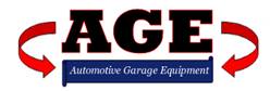 AGE Ltd | Automotive Garage Equipment Retina Logo